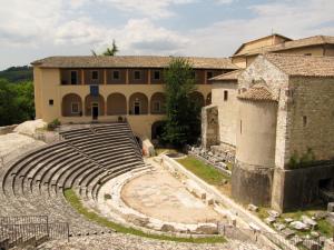 Roman Theatre, Spoleto, Umbria, Italy