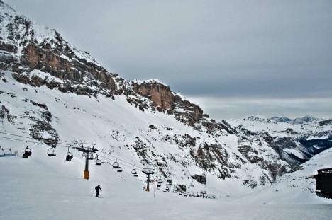 The Dolomites near Cortina, Italy