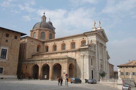 Duomo di Urbino, Marche, Italy