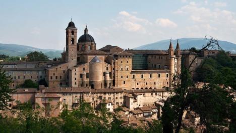 Palace of Urbino, Marche, Italy