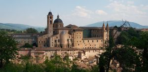 The Ducal Palace of Urbino, Marche, Italy
