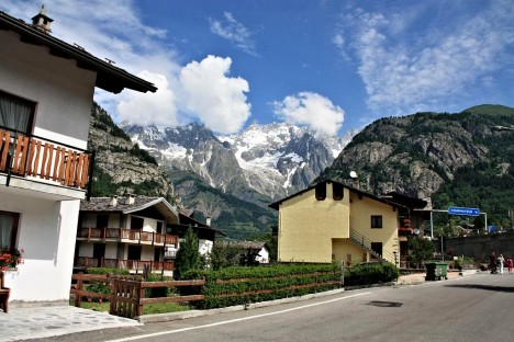 Courmayeur, Aosta valley, Italy