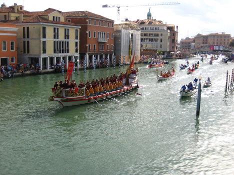 Regata Storica di Venezia, Italy