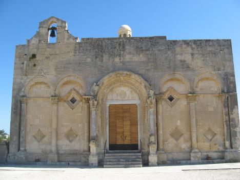 Church of Santa Maria Maggiore in Siponto, Manfredonia, Italy