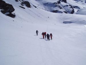 Ski mountaineering, Aosta Valley, Italy