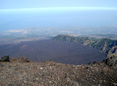 Valle del Bove, Etna, Sicily, Italy