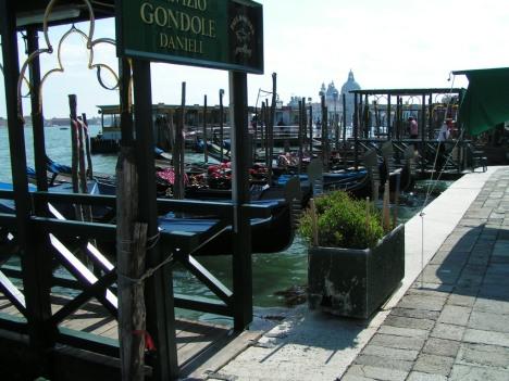 Gondole, Venice, Italy