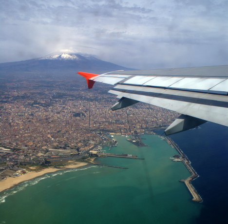 Catania and Etna, Sicily, Italy