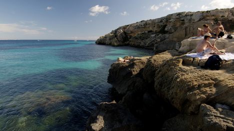 Egadi Islands, Sicily, Italy