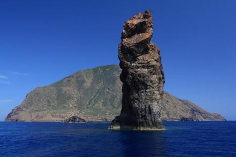 Scoglio della Canna and Filicudi, Aeolian Islands, Sicily, Italy