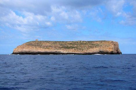 Lampione islet, Pelagian Islands, Sicily, Italy