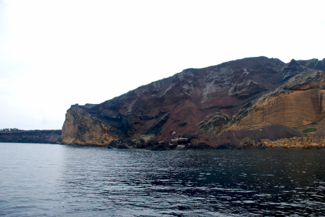 the volcanic island of Linosa, Pelagian Islands, Sicily, Italy