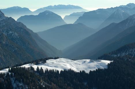 Pinzolo, Madonna di Campiglio Ski Area, Italy