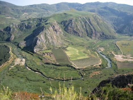 Platani valley, Monti Sicani, Sicily, Italy