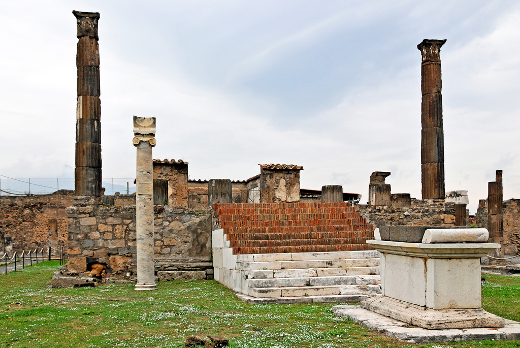 Temple of Apollo, Pompeii, Campania, Italy
