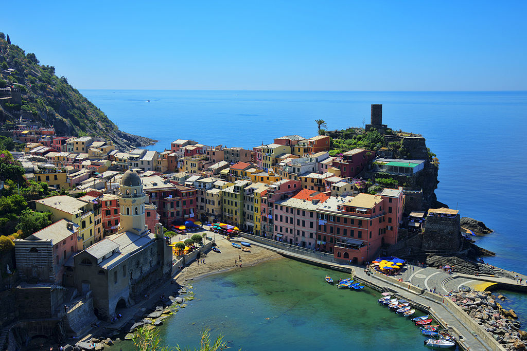Cinque Terre National Park – one of the most beautiful places in all of Italy