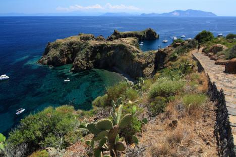 Punta Milazzese, Panarea, Aeolian Islands, Sicily, Italy