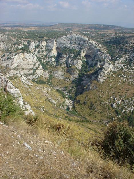 Cava Grande Cassibile Nature Reserve, Sicily, Italy