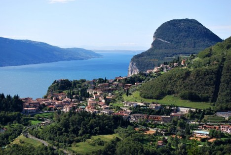 Alto Garda Bresciano nature park, Lake Garda, Italy