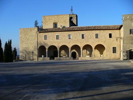 Sanctuary of Santa Maria dei Lumi, Civitella del Tronto, Abruzzo, Italy