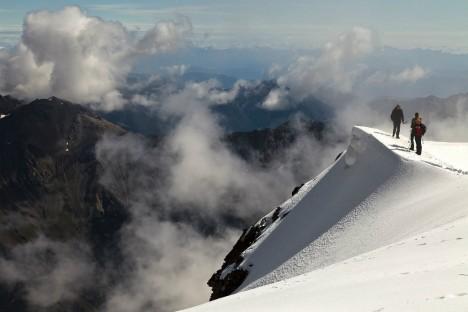 Monte Vioz summit, Stelvio National Park, Italy