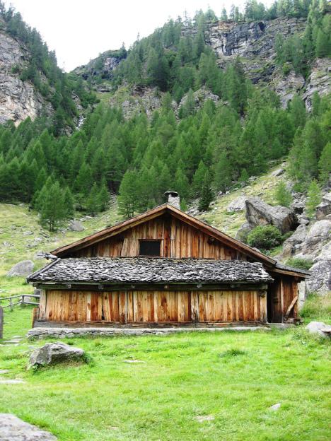 Val di Rabbi, Stelvio National Park, Italy