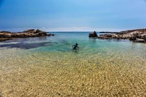 Cala dei Ponzesi, Asinara island, Sardinia, Italy