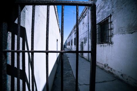 Prison in Asinara - Cala d'Oliva, Sardinia, Italy