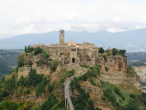 Civita di Bagnoreggio, Lazio, Italy