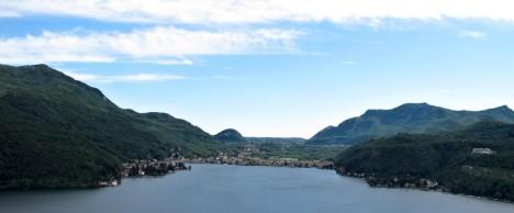 Porto Ceresio, Lago Lugano, Lombardy, Italy