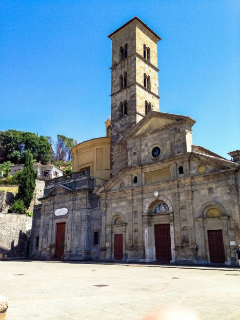 Santa Cristina church in Bolsena, Lazio, Italy