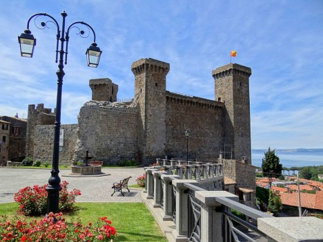 The Castle of Bolsena, Lazio, Italy