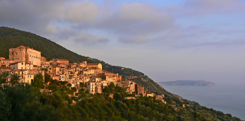 Caprioli – a historical part of the typical ancient mountain village of Pisciotta