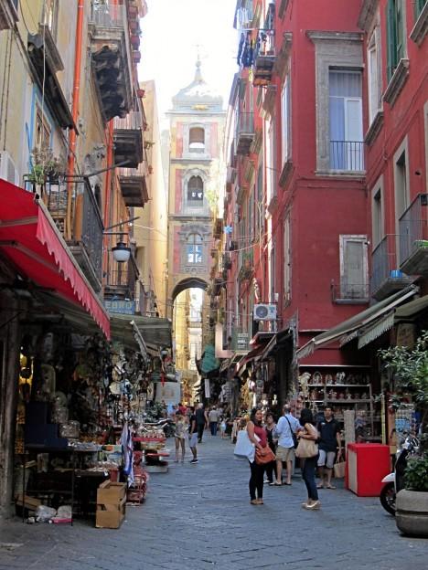 Via San Gregorio Armeno (Christmas Alley), Naples, Campania, Italy