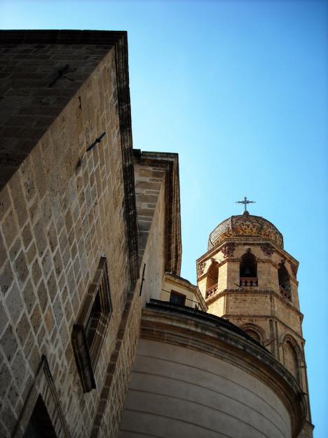 Cathedral of Santa Maria Assunta, Oristano, Sardinia, Italy