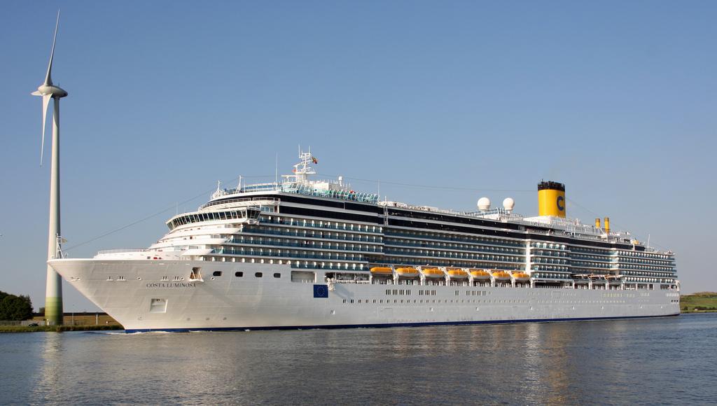Costa Luminosa Cruise Ship  Visititalyinfo