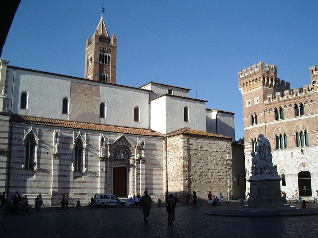 Grosseto Cathedral, Tuscany, Italy