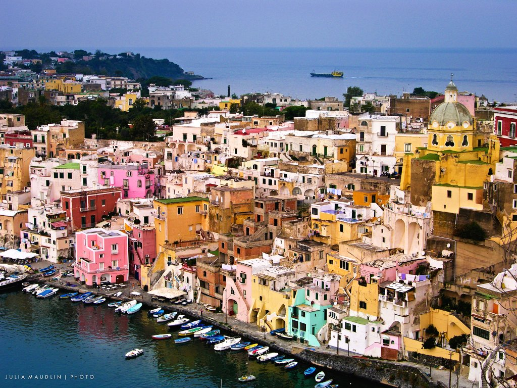 Colourful Procida, Campania, Italy