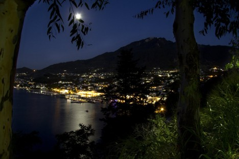 Casamicciola during the night, Ischia, Campania, Italy