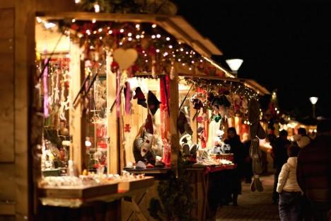 Christmas market in Merano, Trentino-Alto Adige/Südtirol, Italy