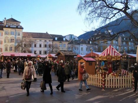 Christmas market in Bolzano, Trentino-Alto Adige/Südtirol, Italy