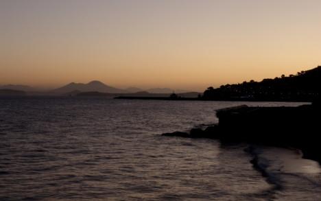 Coastline around Casamicciola, Ischia, Campania, Italy