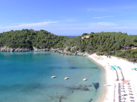 Fetovaia beach, Elba, Tuscany, Italy