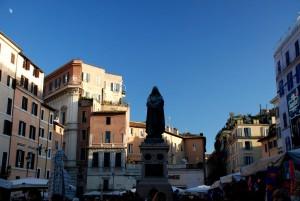 Giordano Bruno monument, Campo dei Fiori, Rome, Lazio, Italy