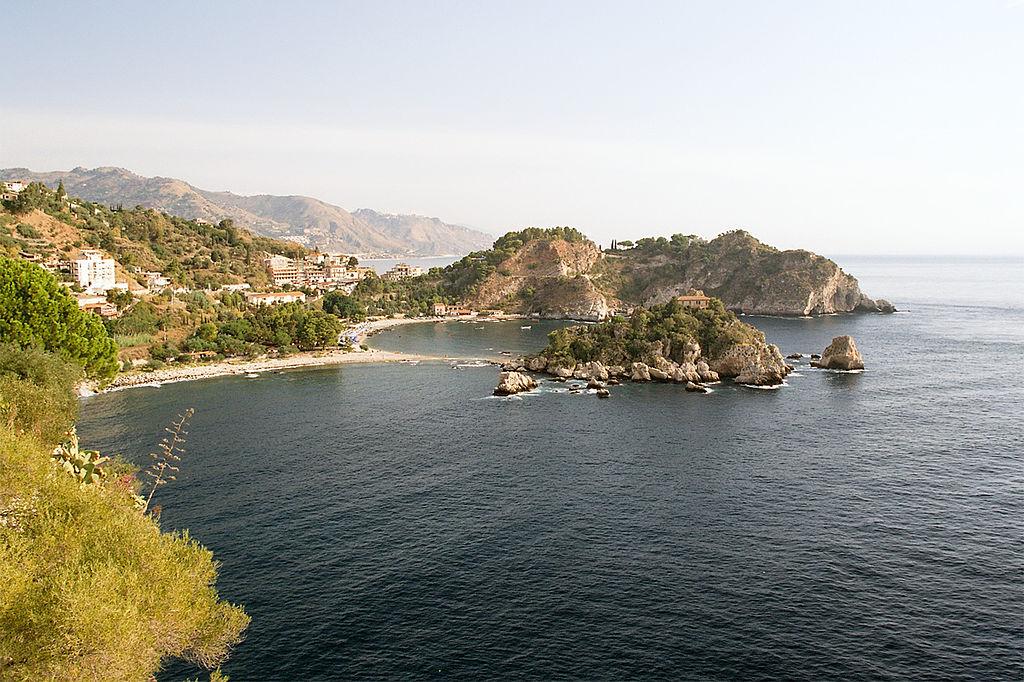 Isola Bella Bay, Taormina, Sicily, Italy