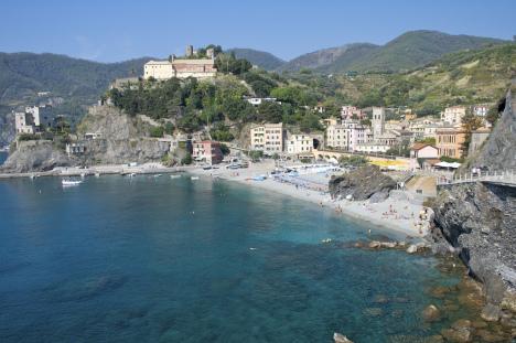 Monterosso al Mare beach, Cinque Terre, Liguria, Italy