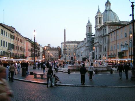 Piazza Navona, Rome, Lazio, Italy