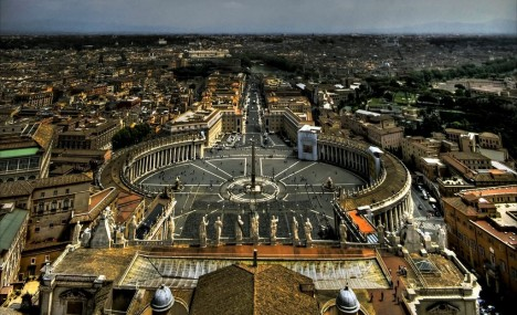 Piazza San Pietro, Rome, Lazio, Italy