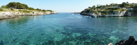 Porto Badisco, Otranto, Puglia, Italy