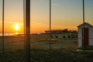 Riccione beach, Rimini, Emilia-Romagna, Italy